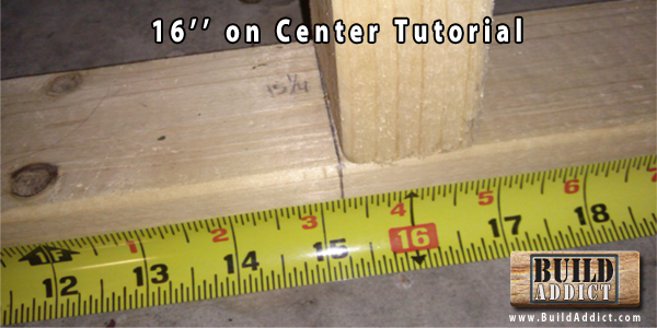 16 on Center Wall Framing Explanation and Tutorial